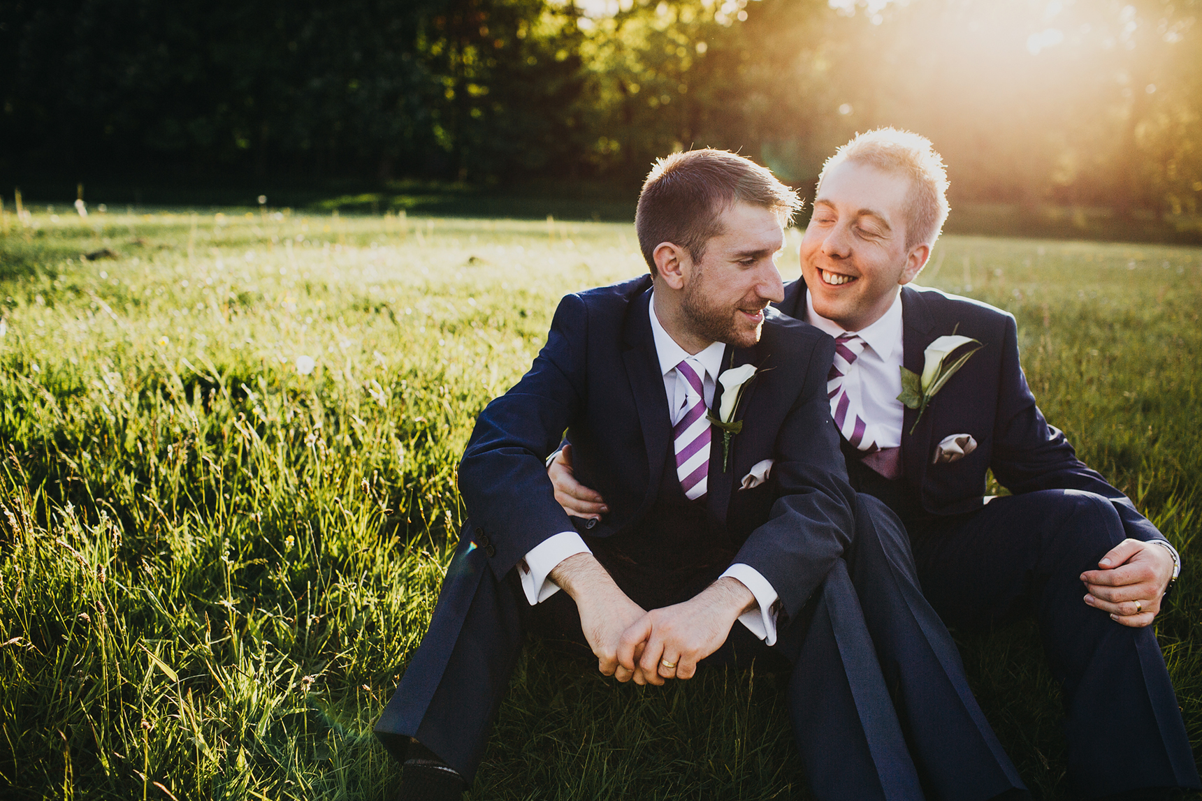 Ashfield House gay wedding