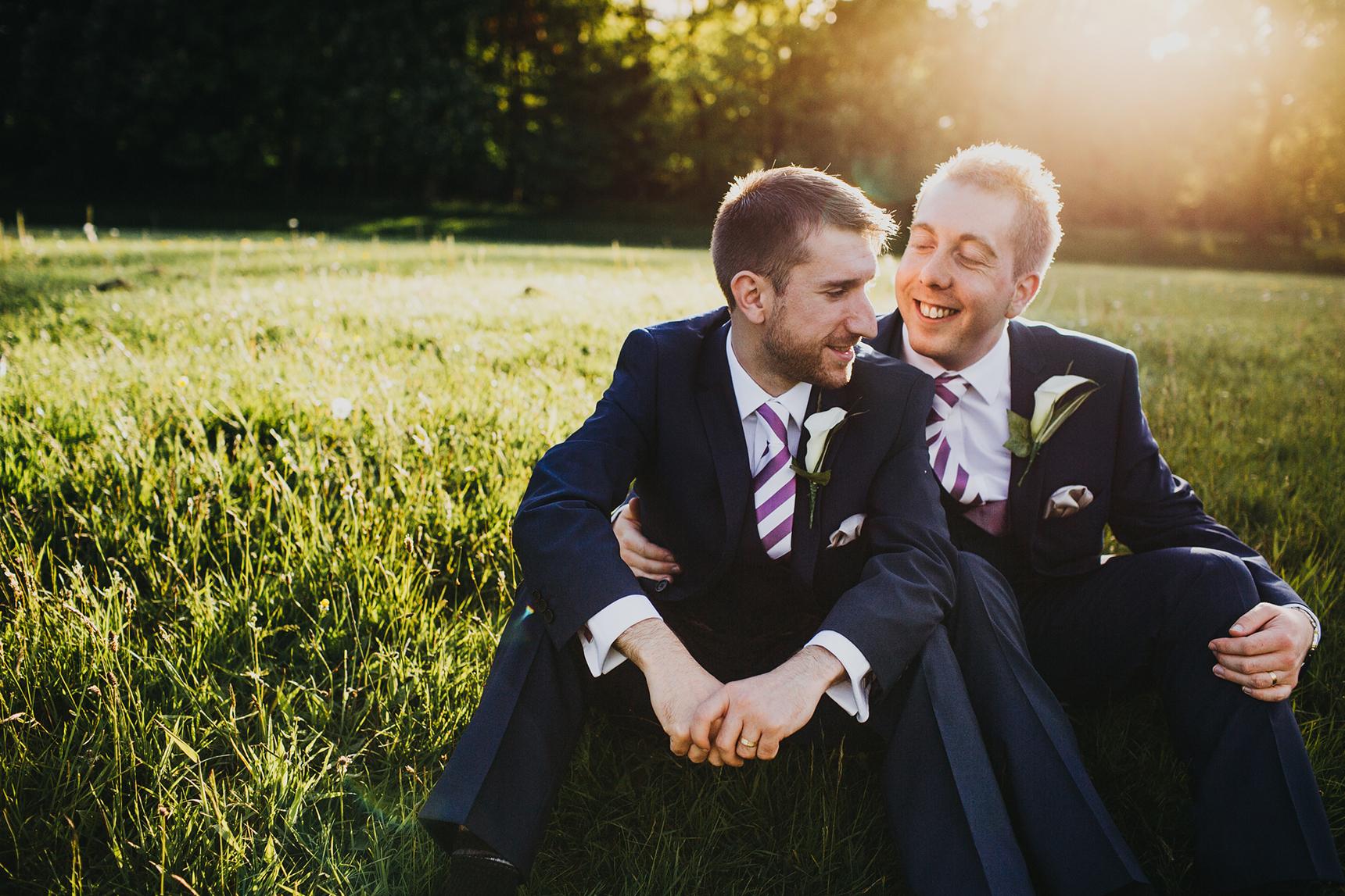Ashfield House gay wedding