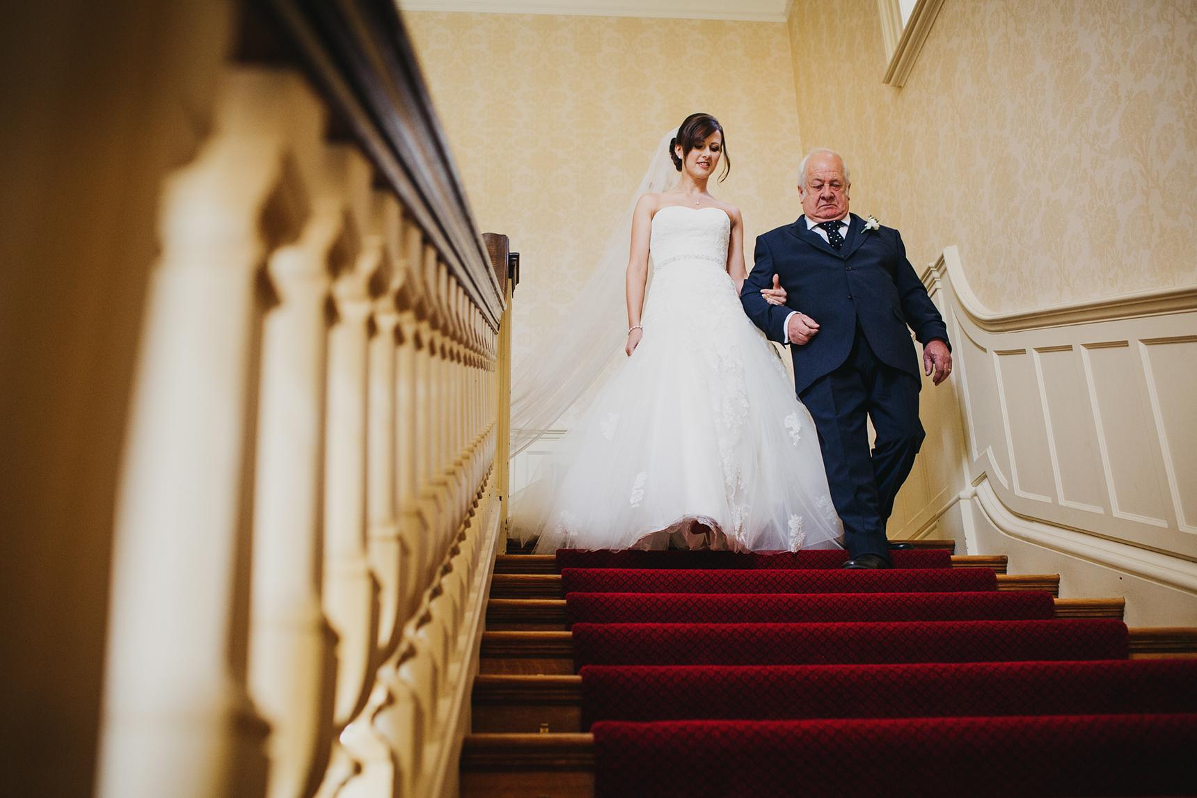 Easby Hall wedding