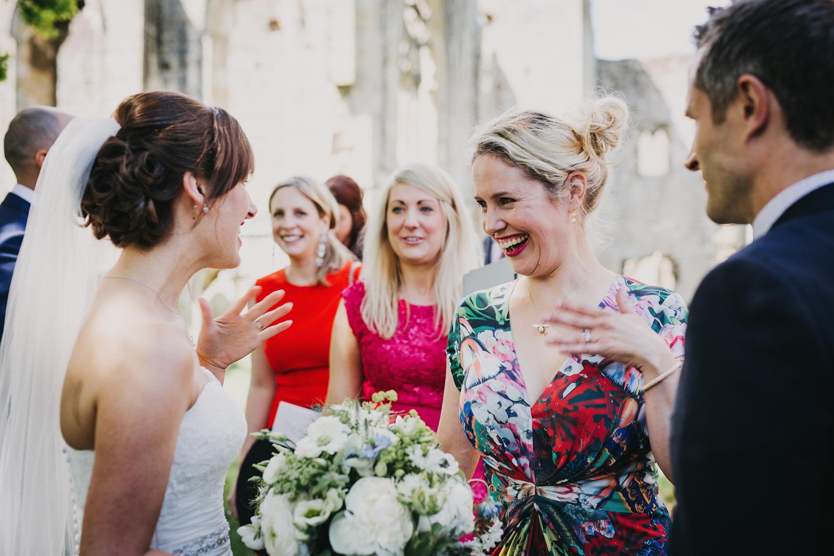 Easby Abbey wedding