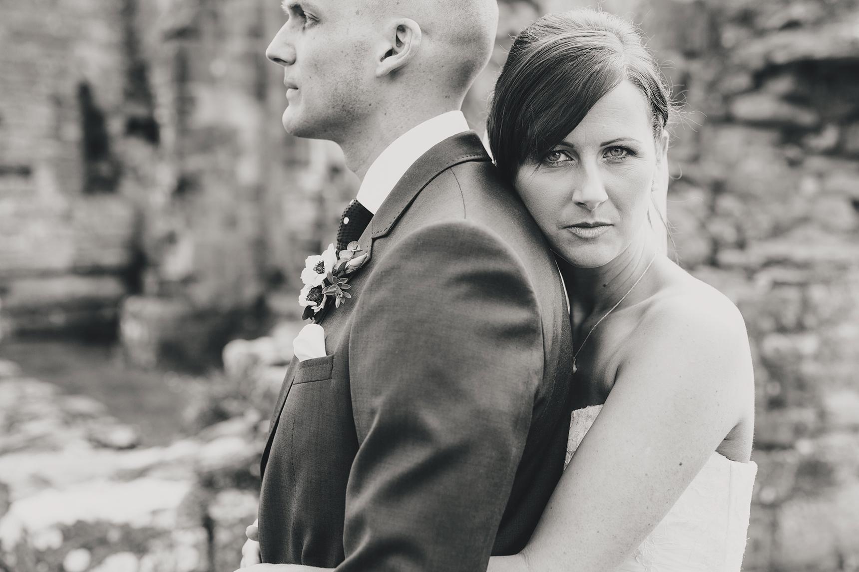 Easby Abbey wedding photos