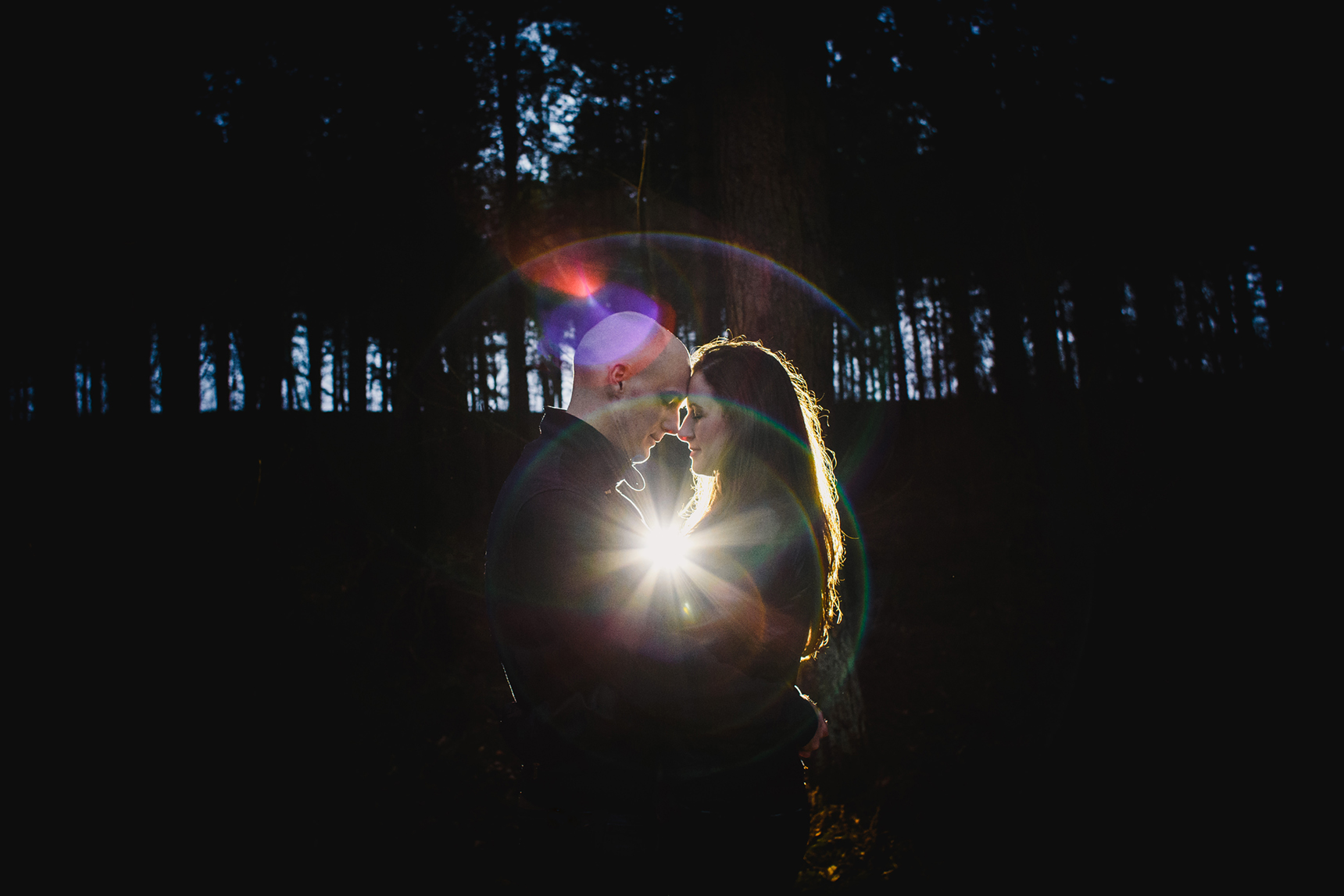 Otley Chevin engagement shoot