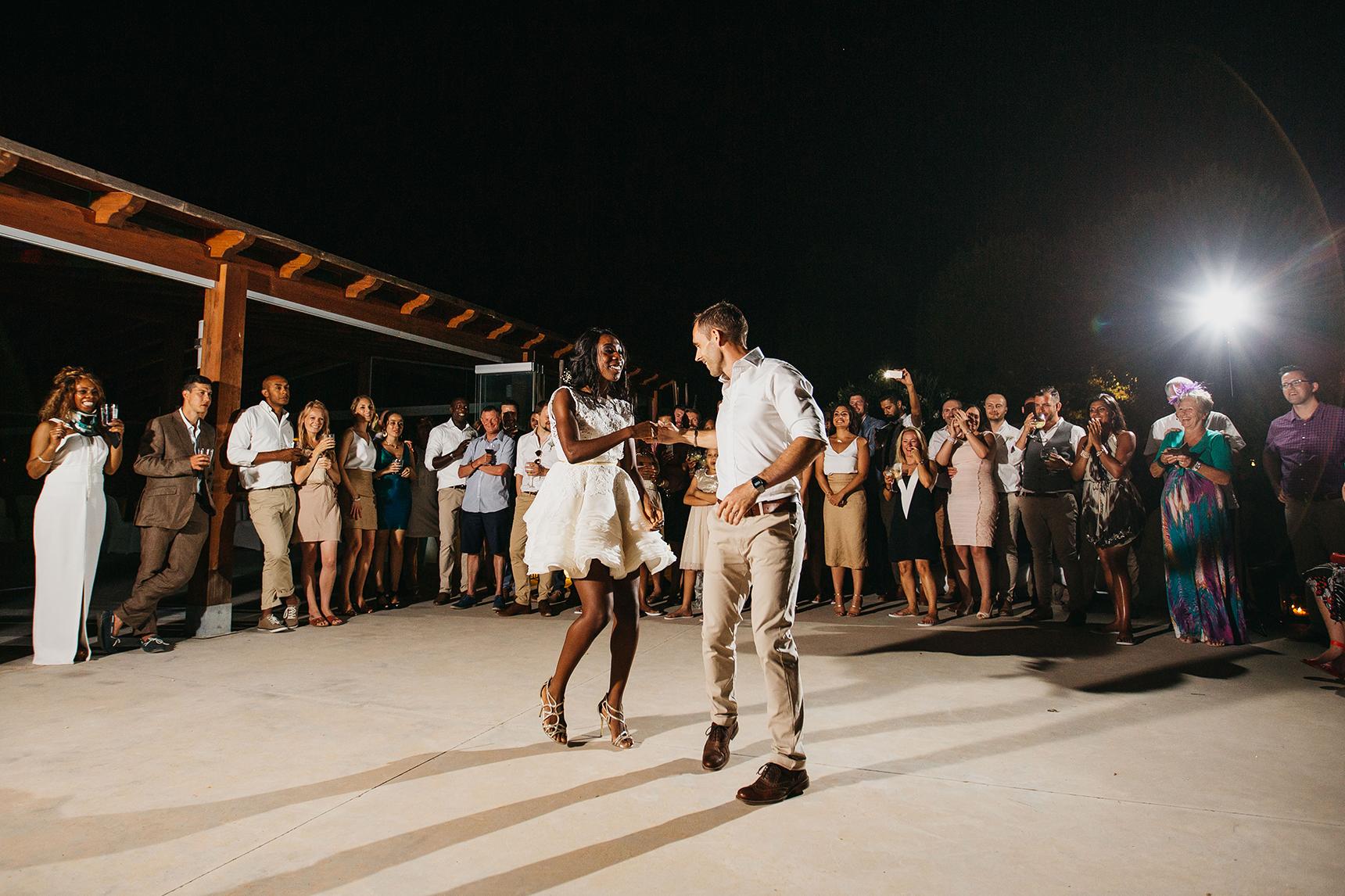 salsa first dance