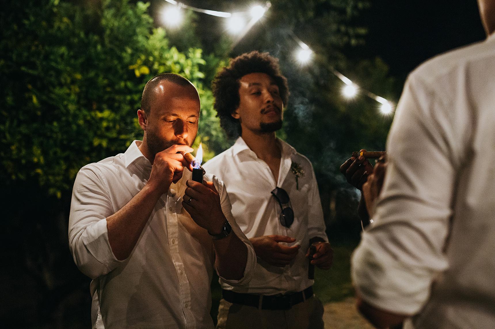 groomsmen cigars
