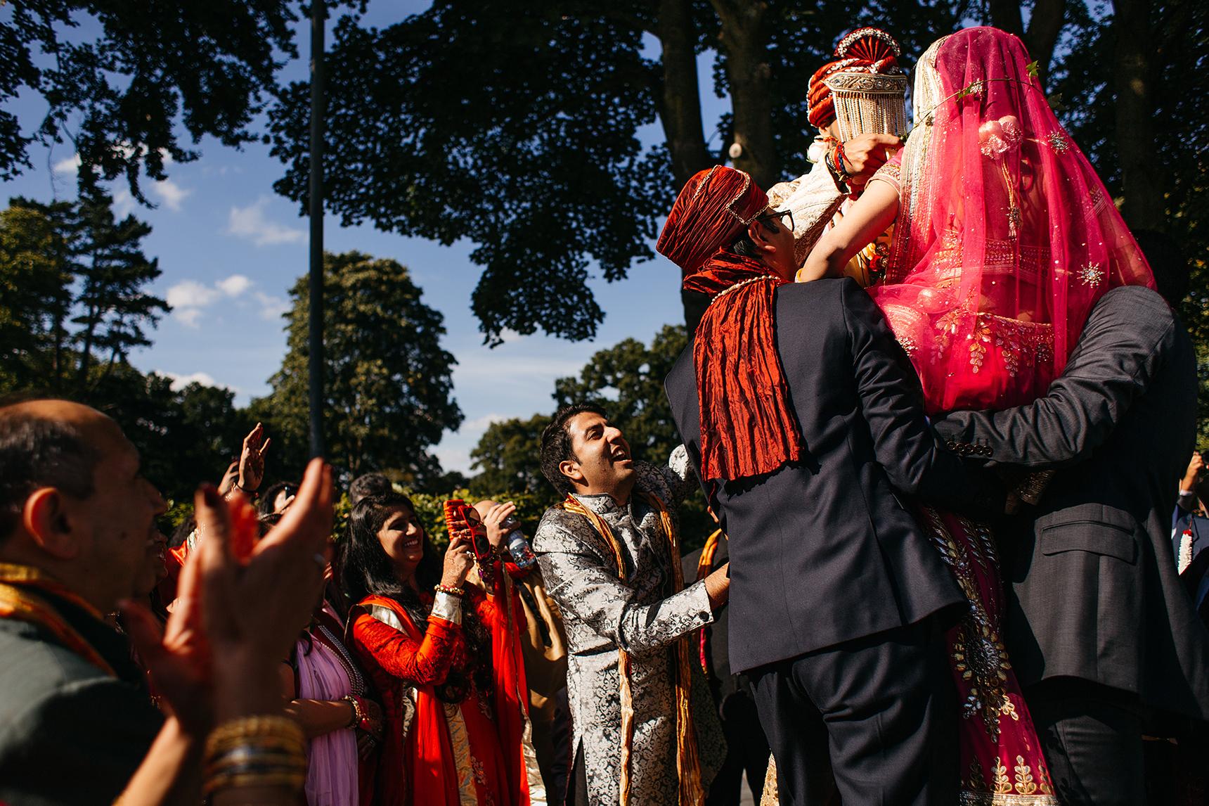 Asian wedding photographer leeds
