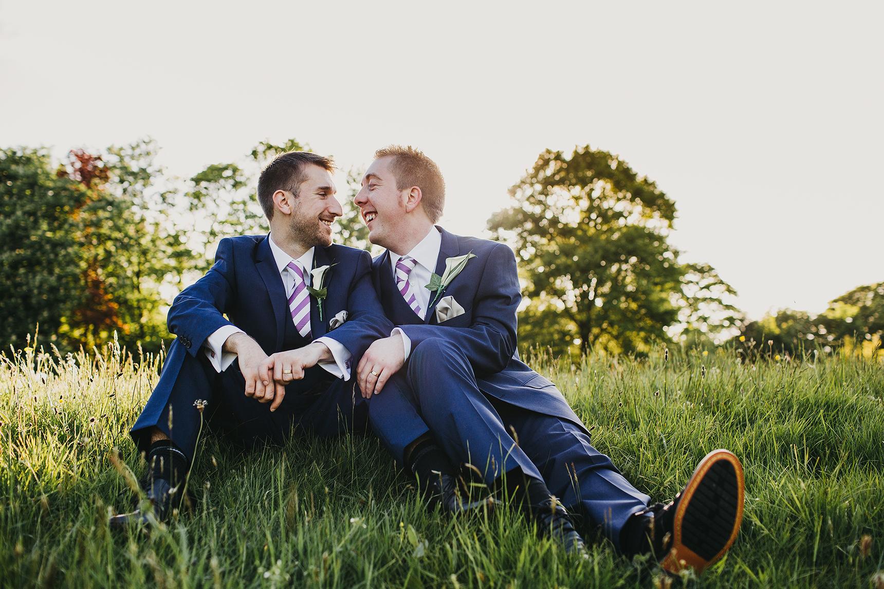 Gay Leeds wedding photographer