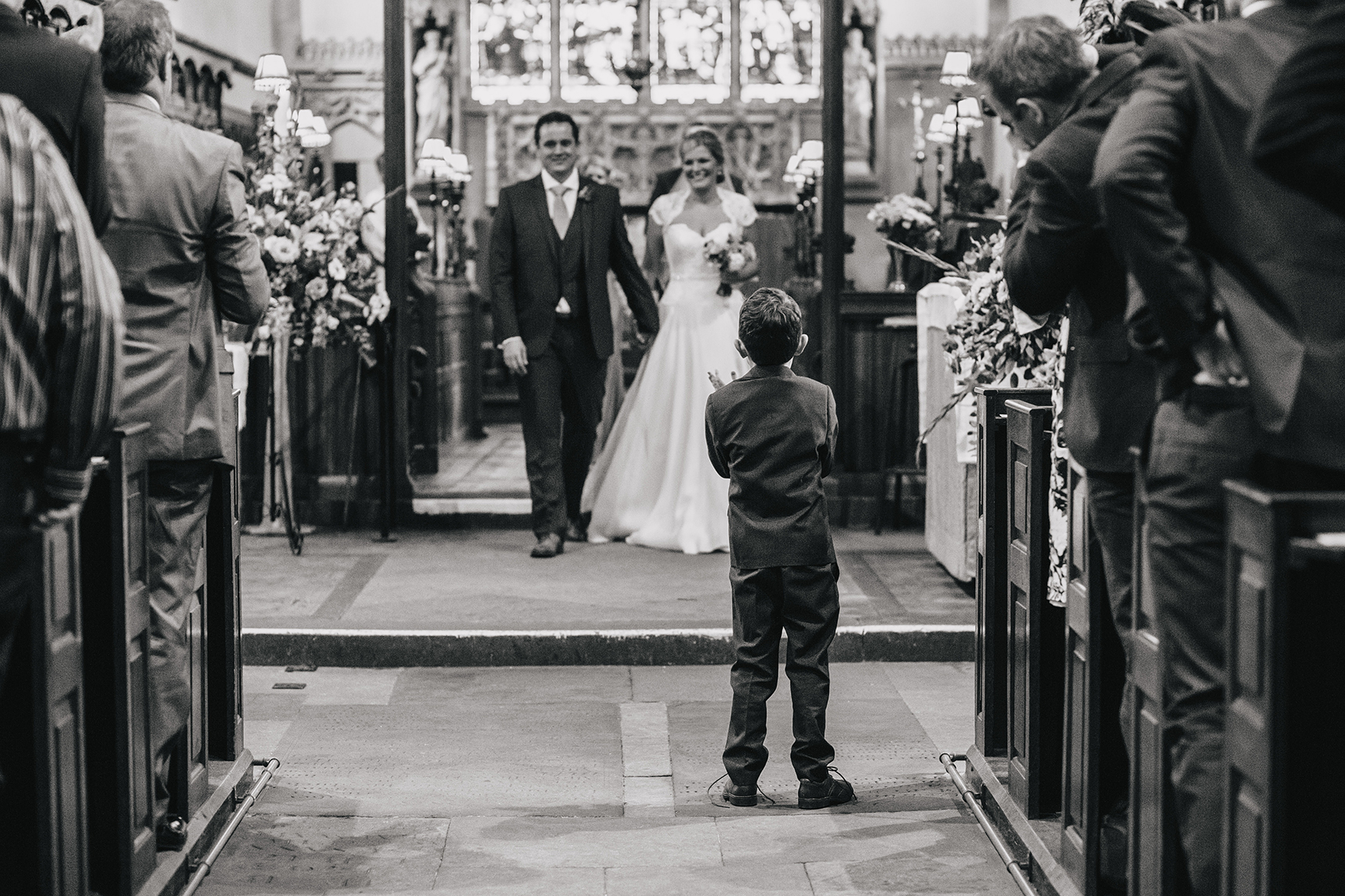 wedding photos Thornbridge Hall