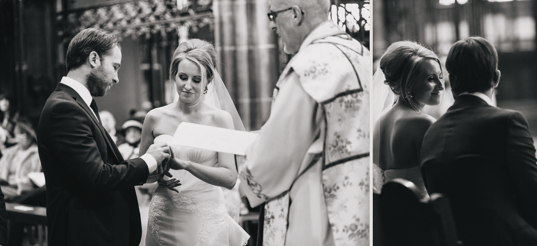 wedding photographer Manchester Cathedral