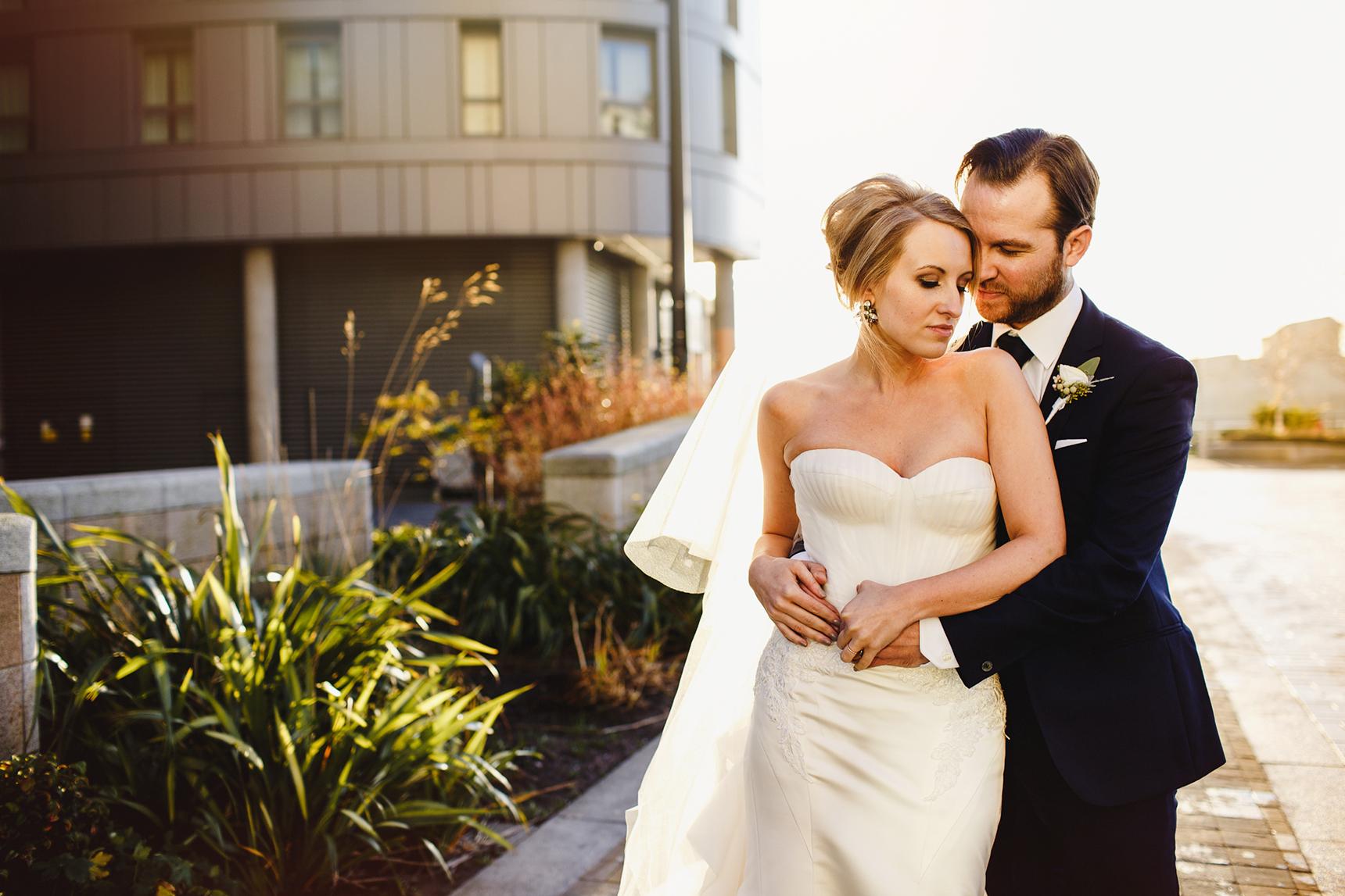 wedding photographer Media City