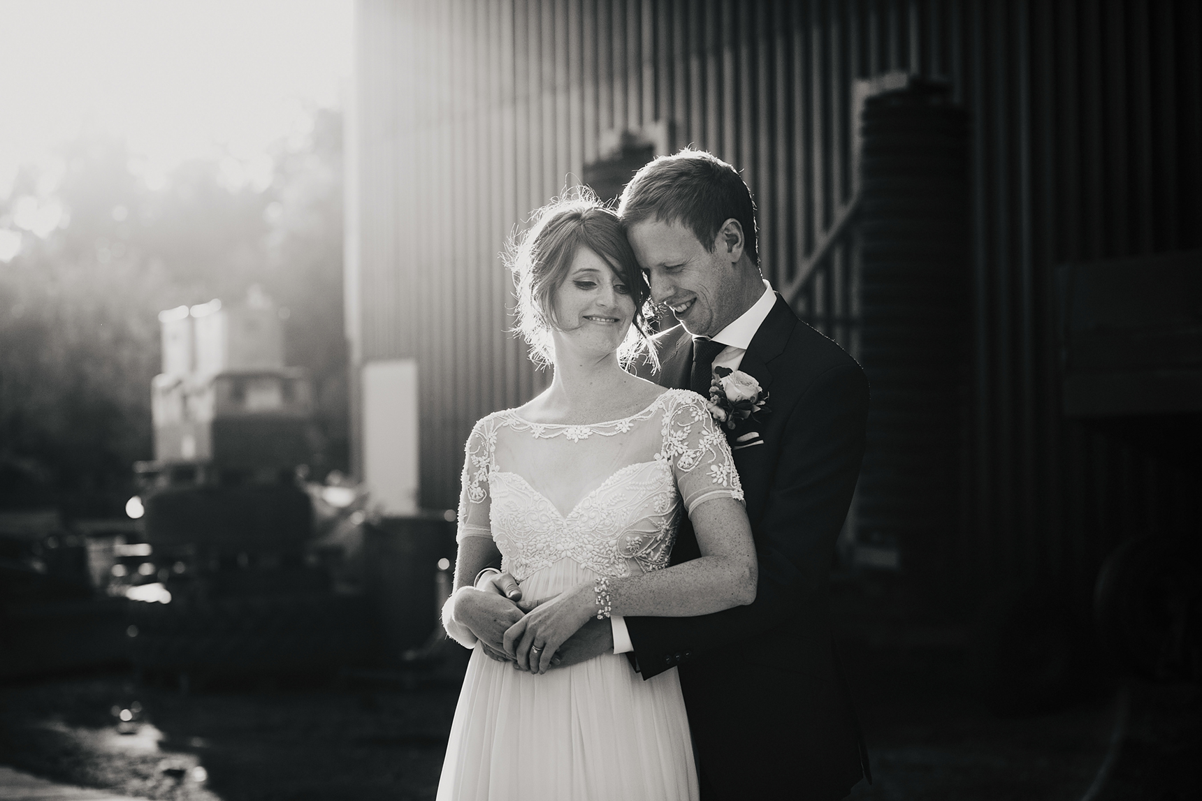 wedding photography at Priory Cottages
