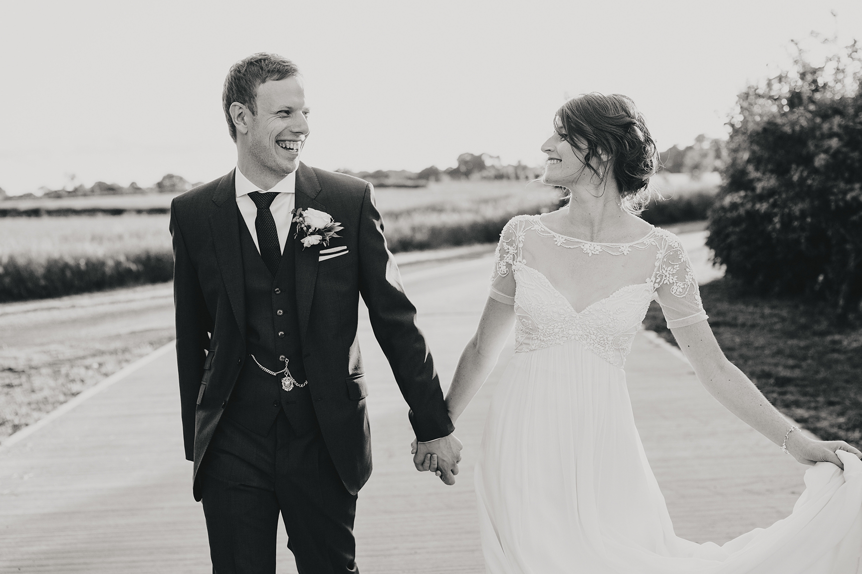 Priory Cottages wedding photo