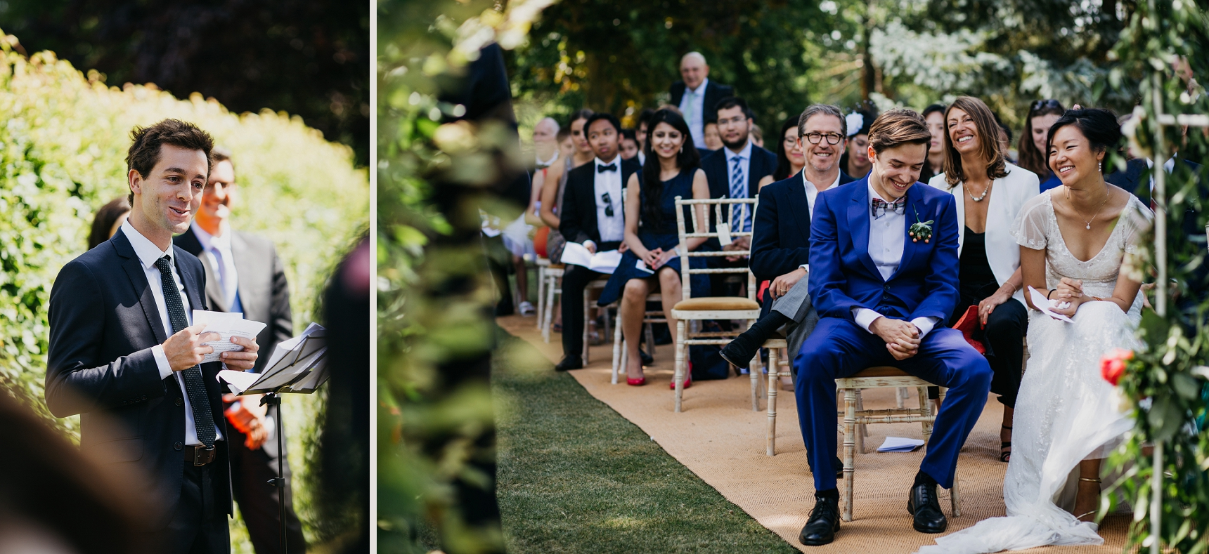 outdoor ceremony weddings The Manor Barn Harlton