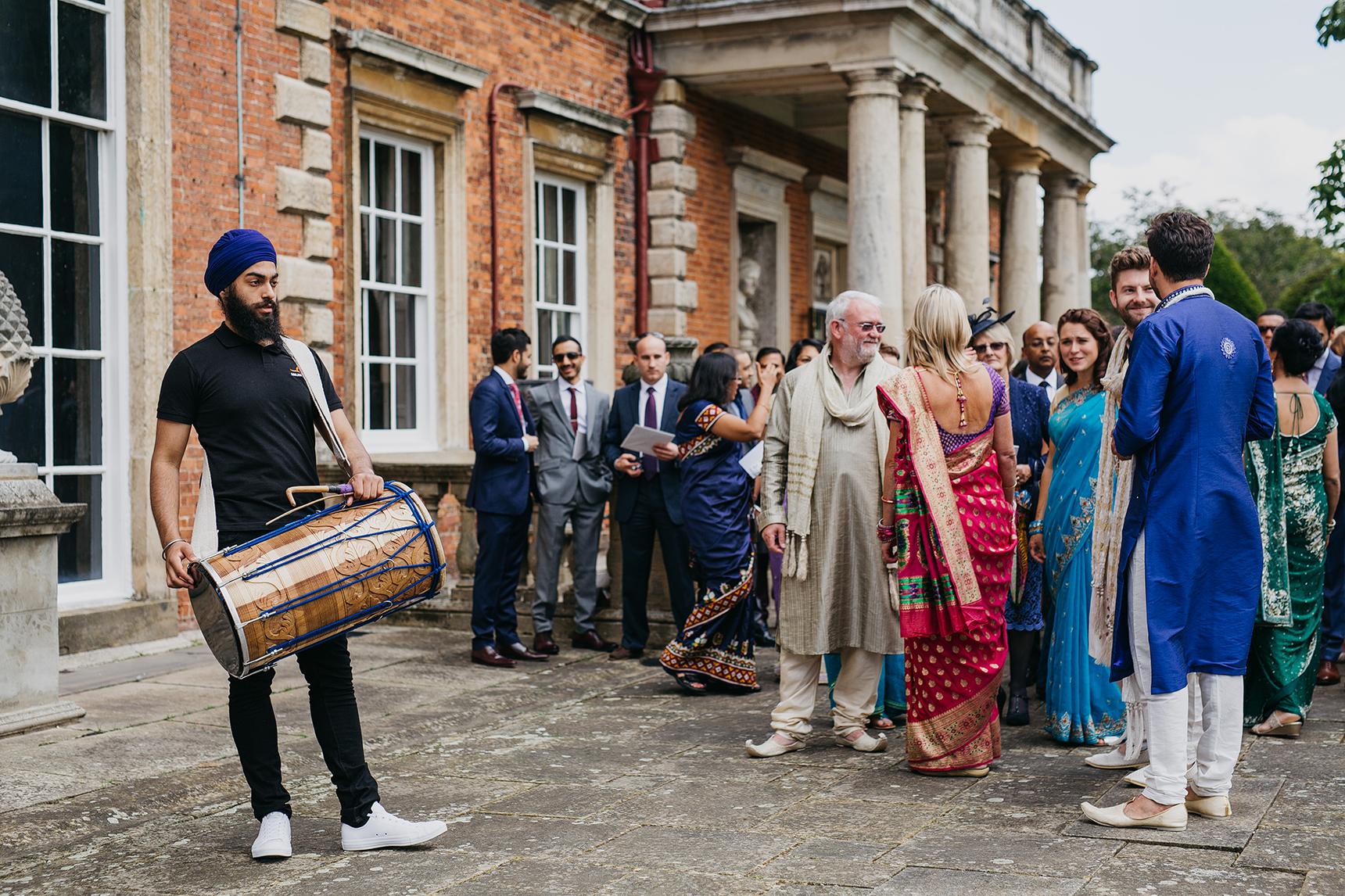 Hindu wedding photography North Yorkshire