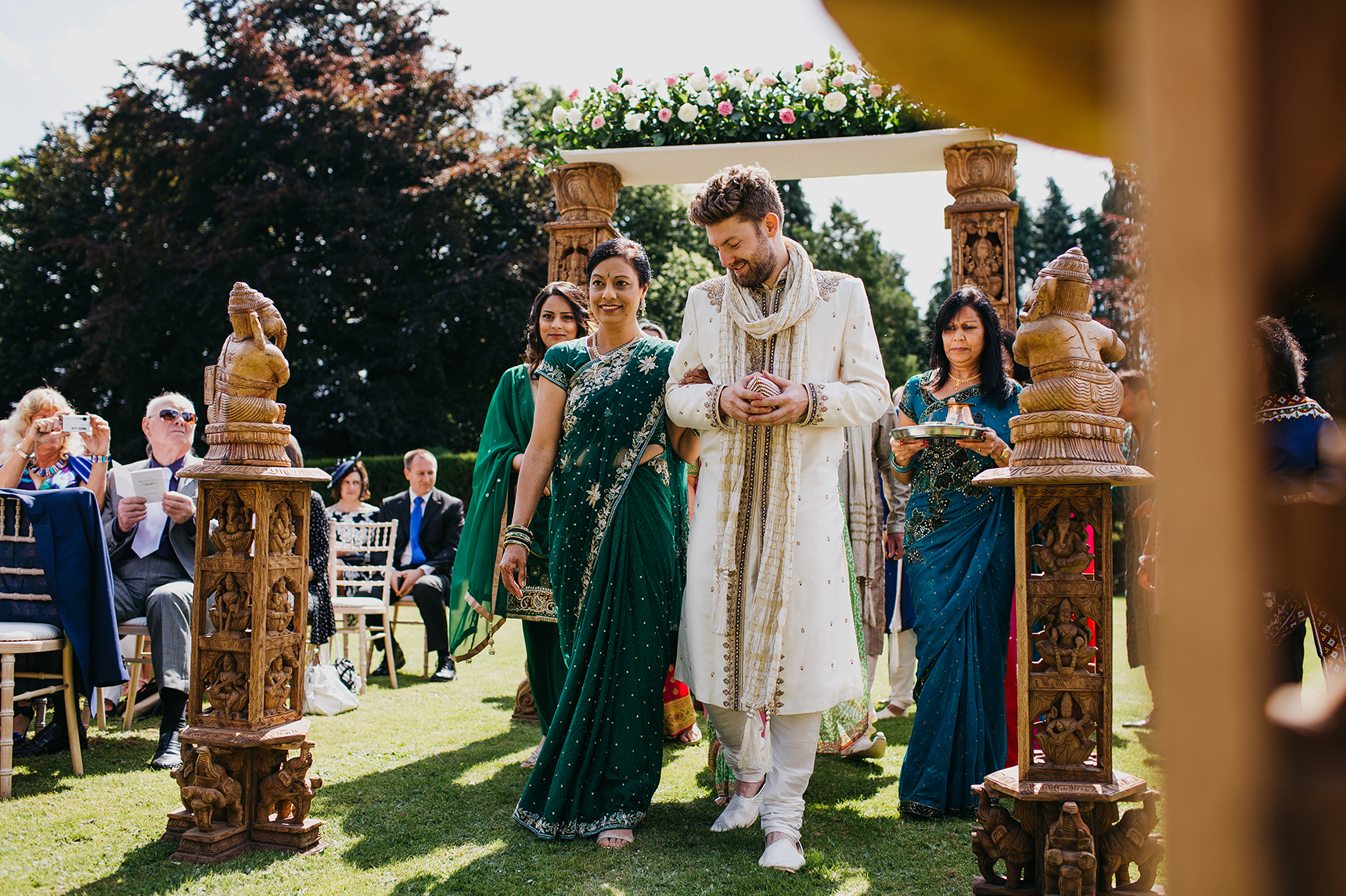 English Hindu wedding Yorkshire
