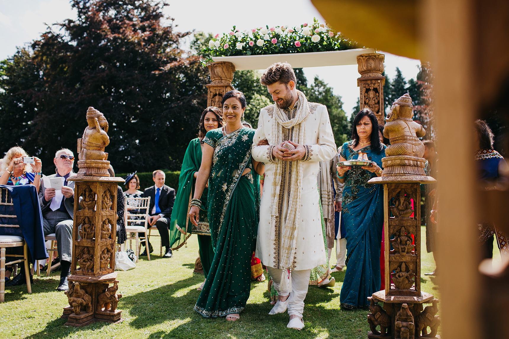 English Hindu wedding Yorkshire