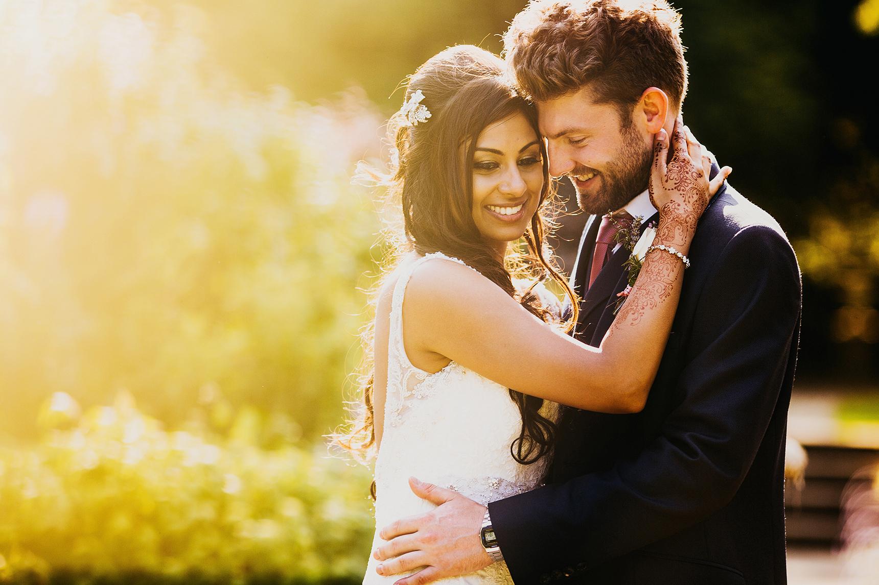 English Hindu mixed wedding