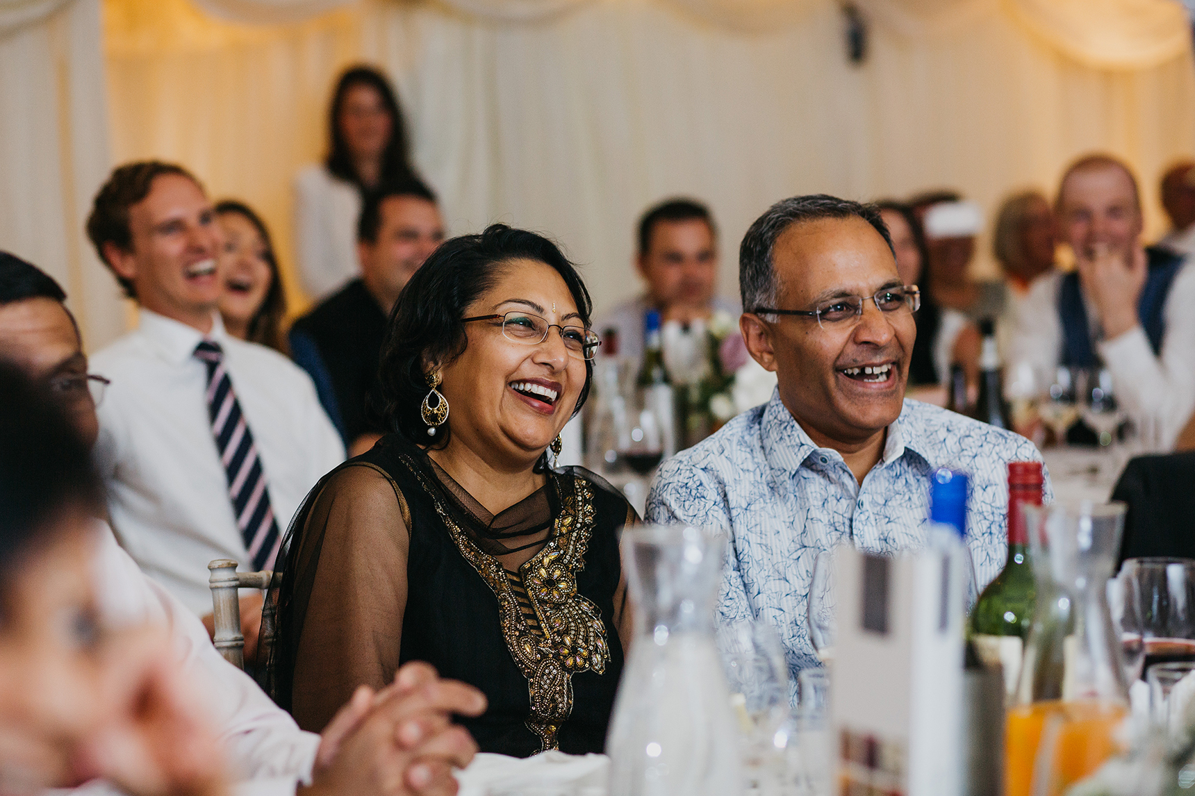 English Hindu mixed wedding