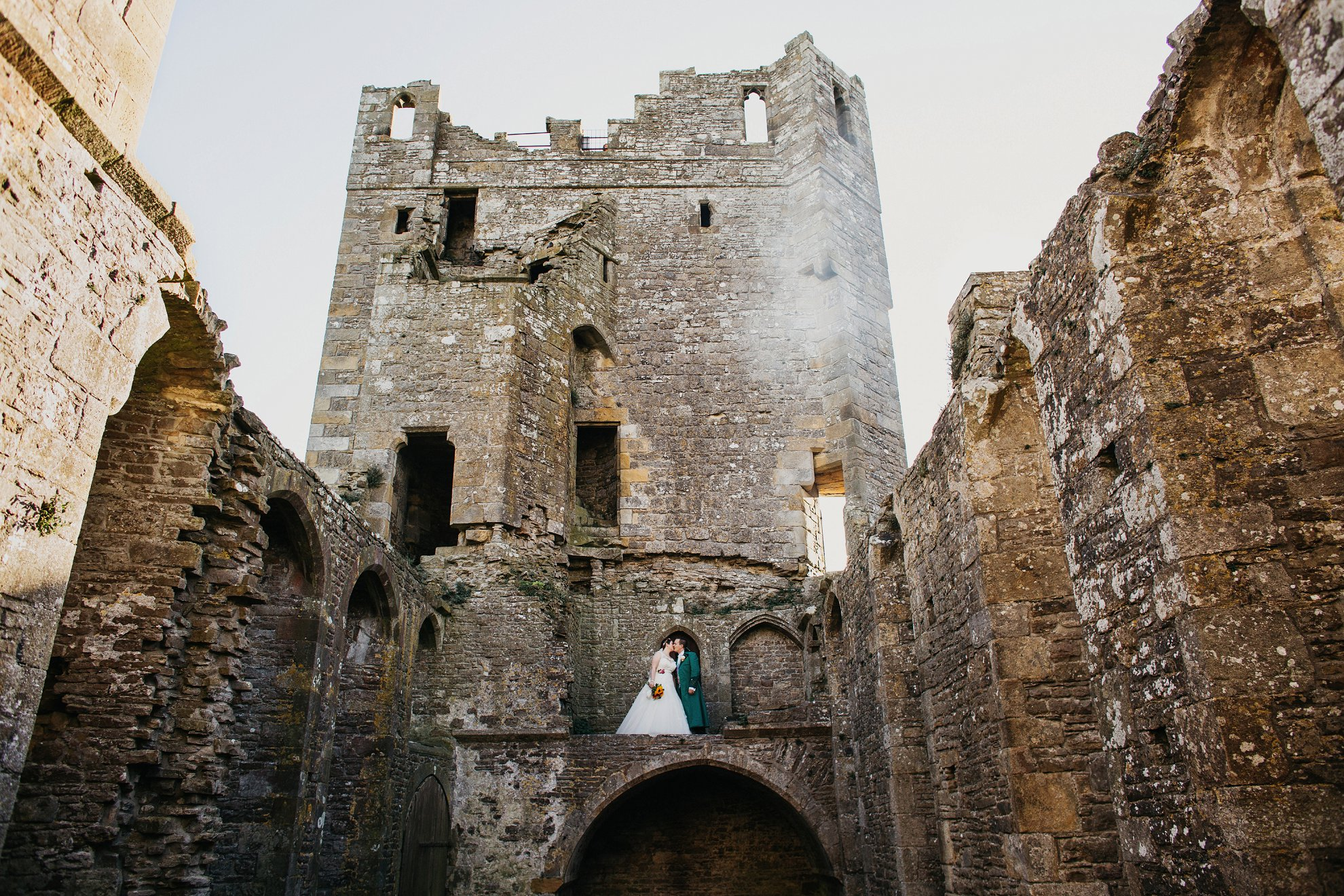 bolton castle wedding
