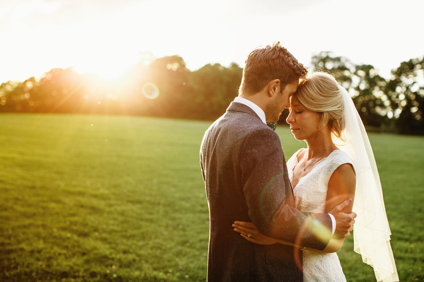 Bromsgrove wedding photographer sunset