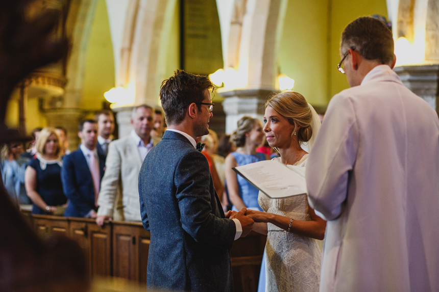 Worcester wedding photographer church ceremony