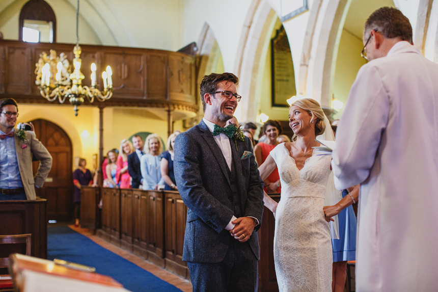 Droitwich wedding photographer church ceremony