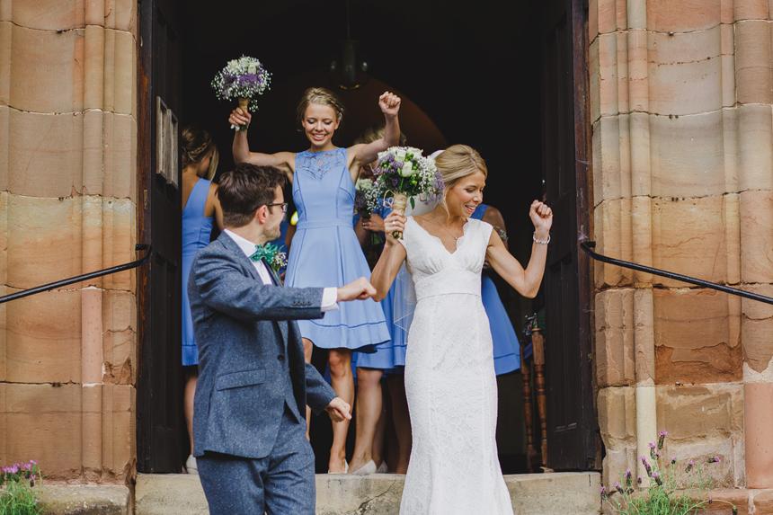 Bromsgrove wedding photographer church ceremony