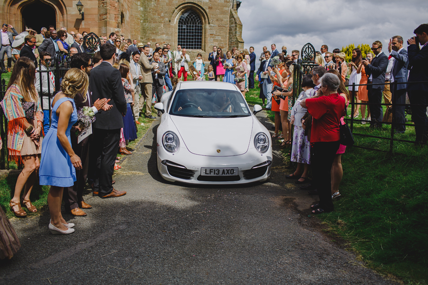 Bromsgrove wedding photographer church ceremony