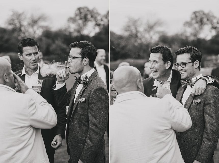 West Midlands wedding photographer cigars
