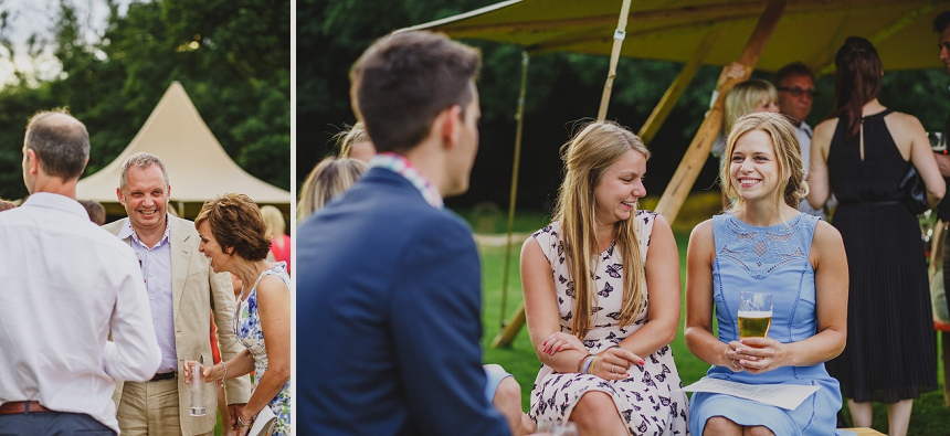 West Midlands wedding photographer tepee tipi