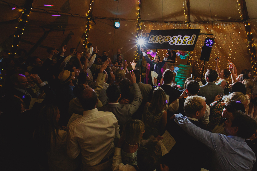 Solihull wedding photographer dancefloor tepee tipi