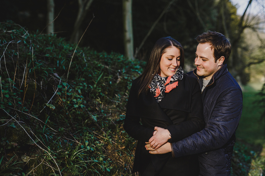 Fountains Abbey Engagement Shoot