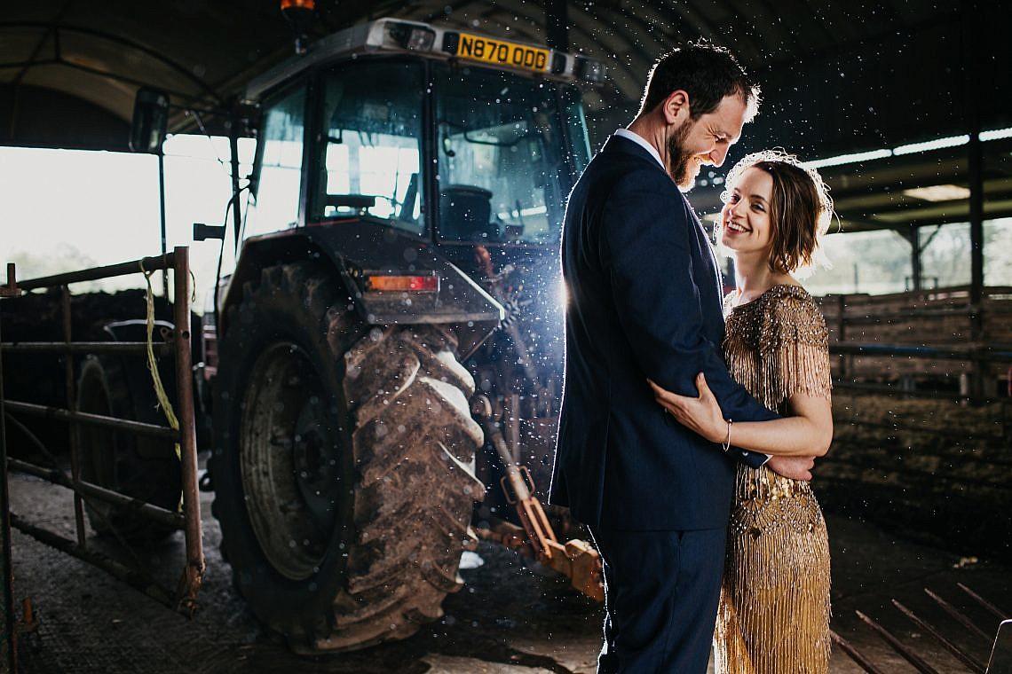 Stowford Manor Farm wedding