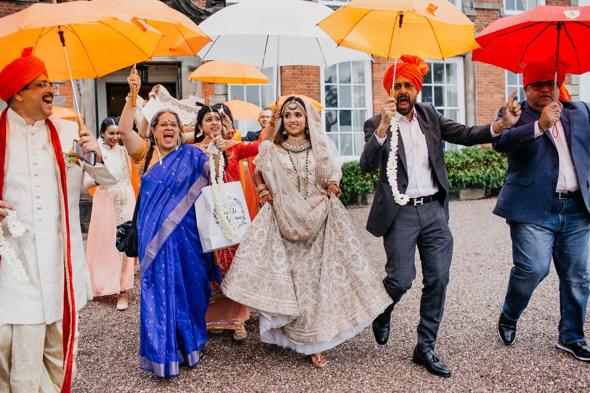 Whitmore Hall wedding