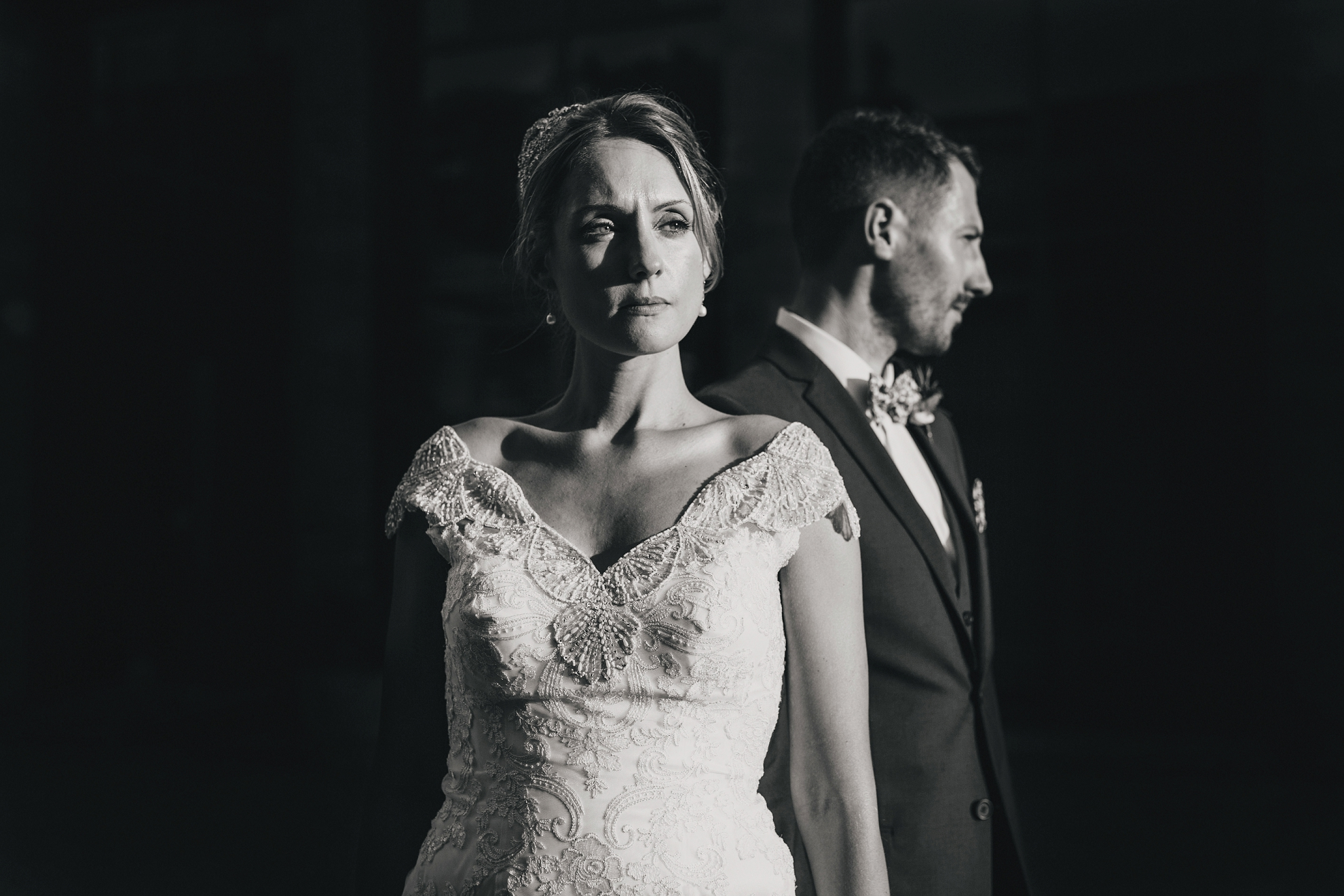 broughton hall wedding photos