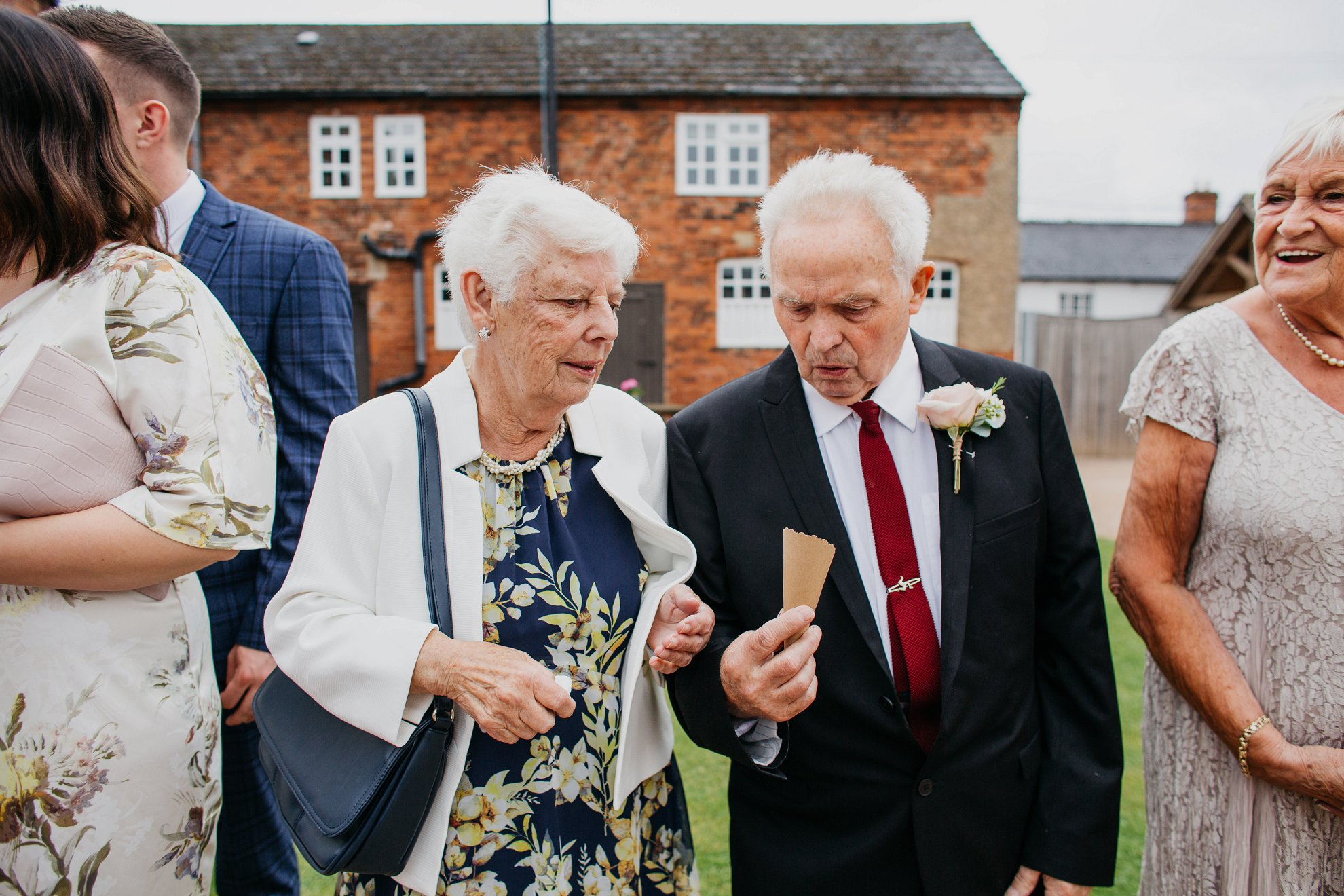 donington park farm house wedding