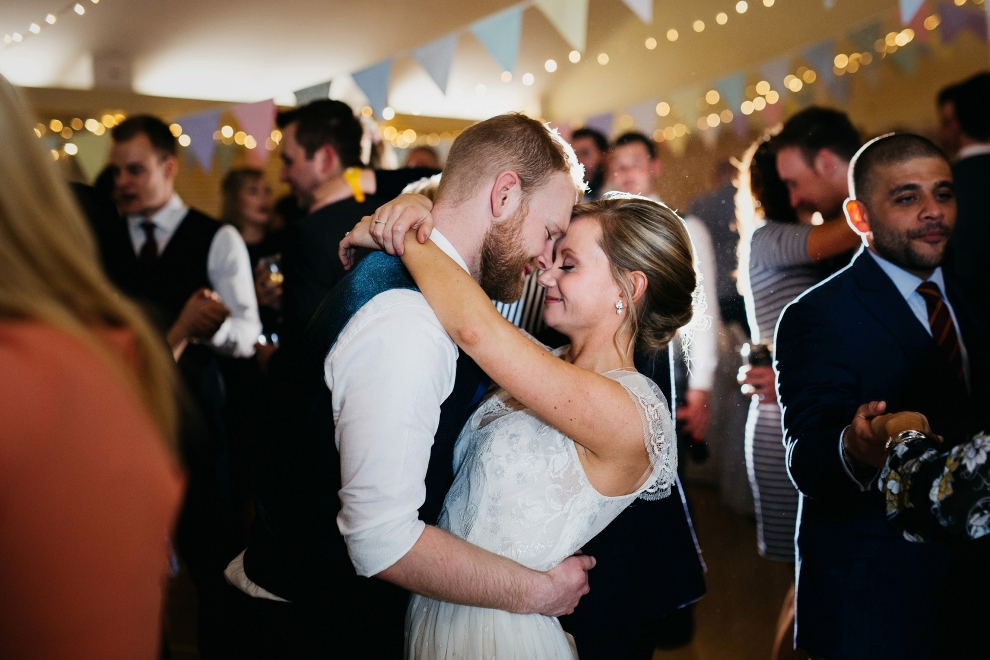 east keswick village hall wedding