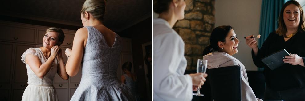 east keswick village hall wedding photographer