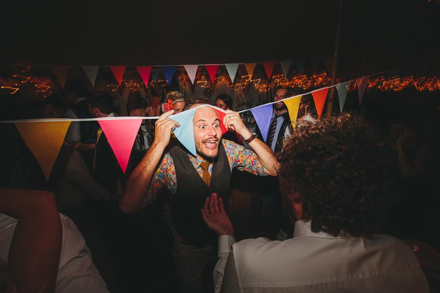 field wedding