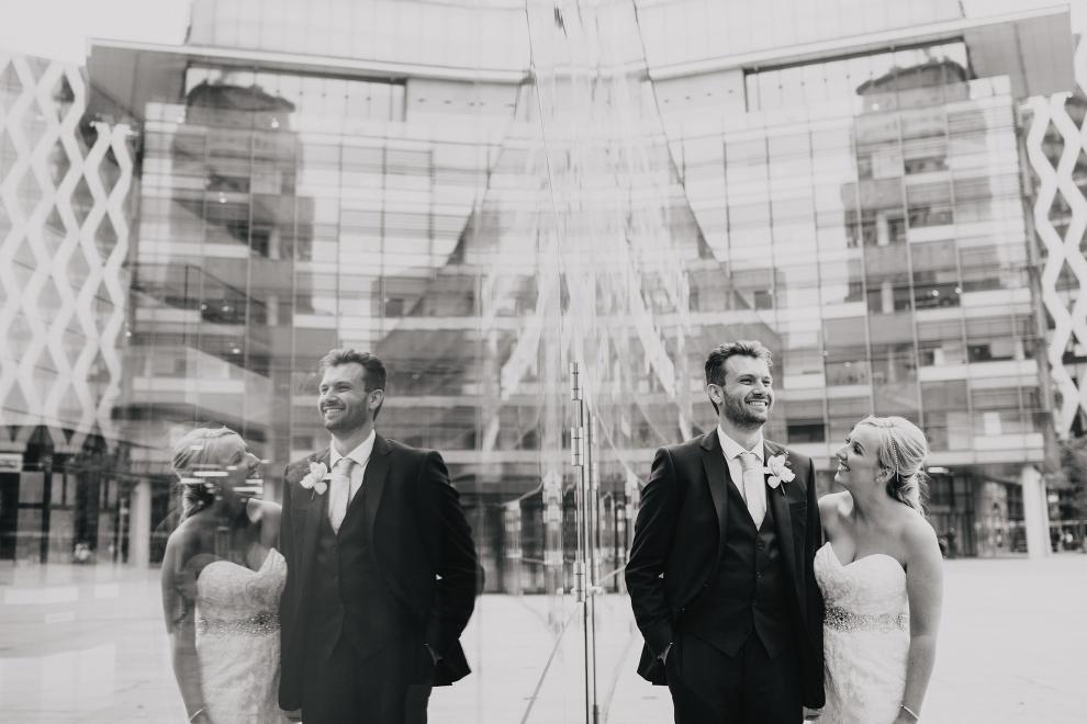 media city wedding