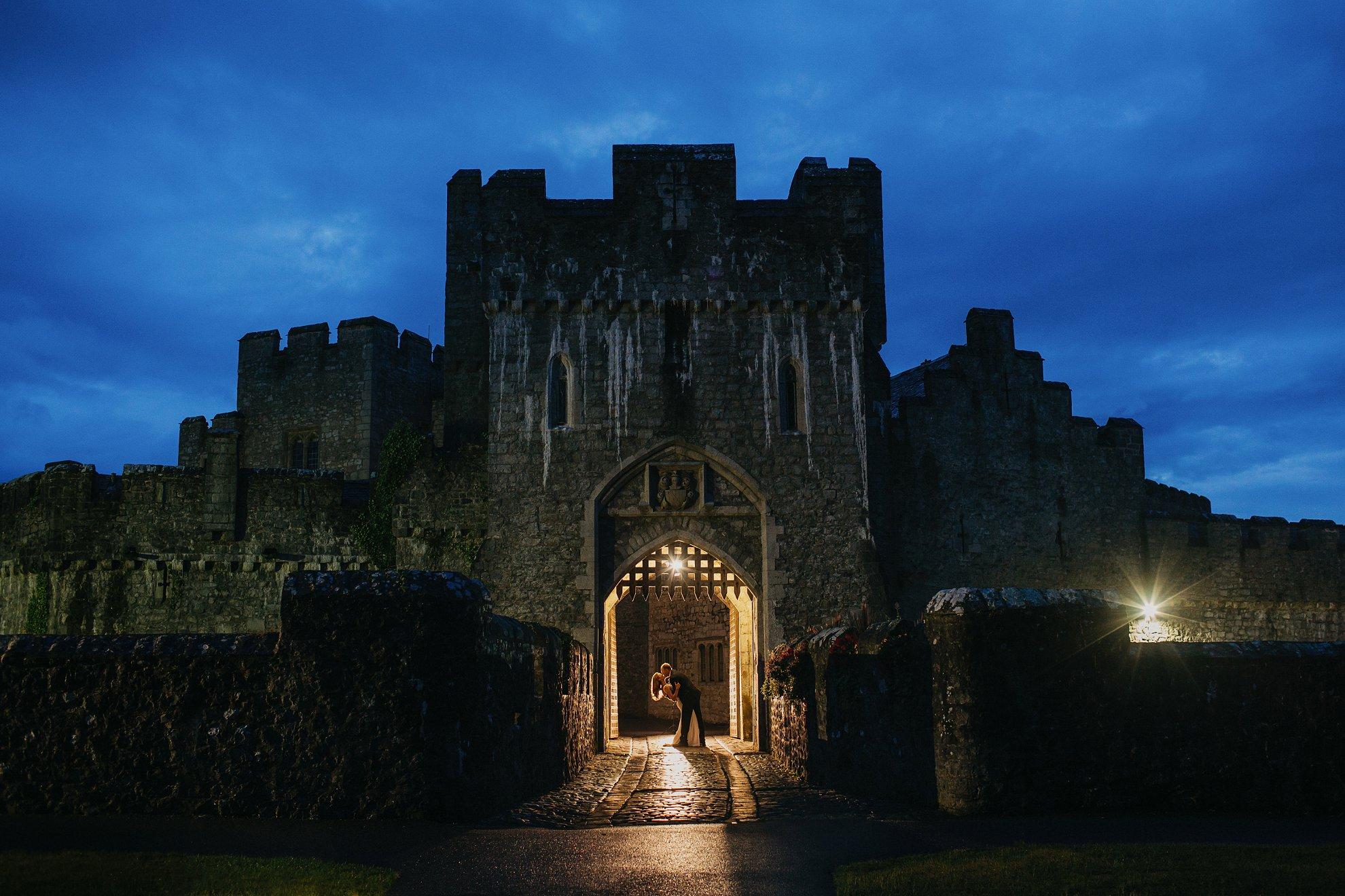 st donats castle weddings