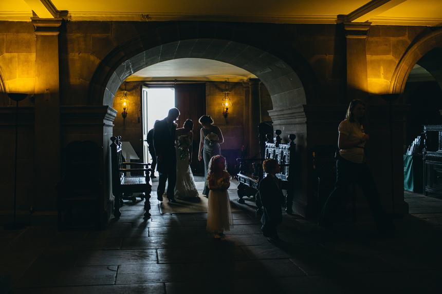wedding Nostell Priory